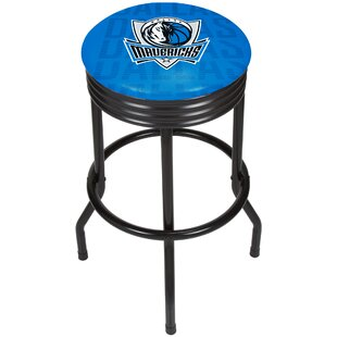 NBA City Ribbed 29 Swivel Bar Stool Trademark Global