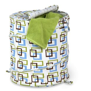 Honey Can Do Large Patterned Laundry Hamper