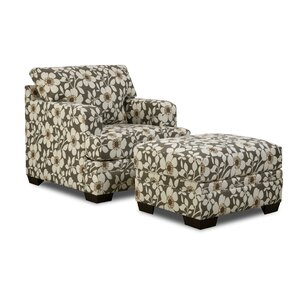 Simmons Upholstery Stinson Ottoman by Red Barrel Studio