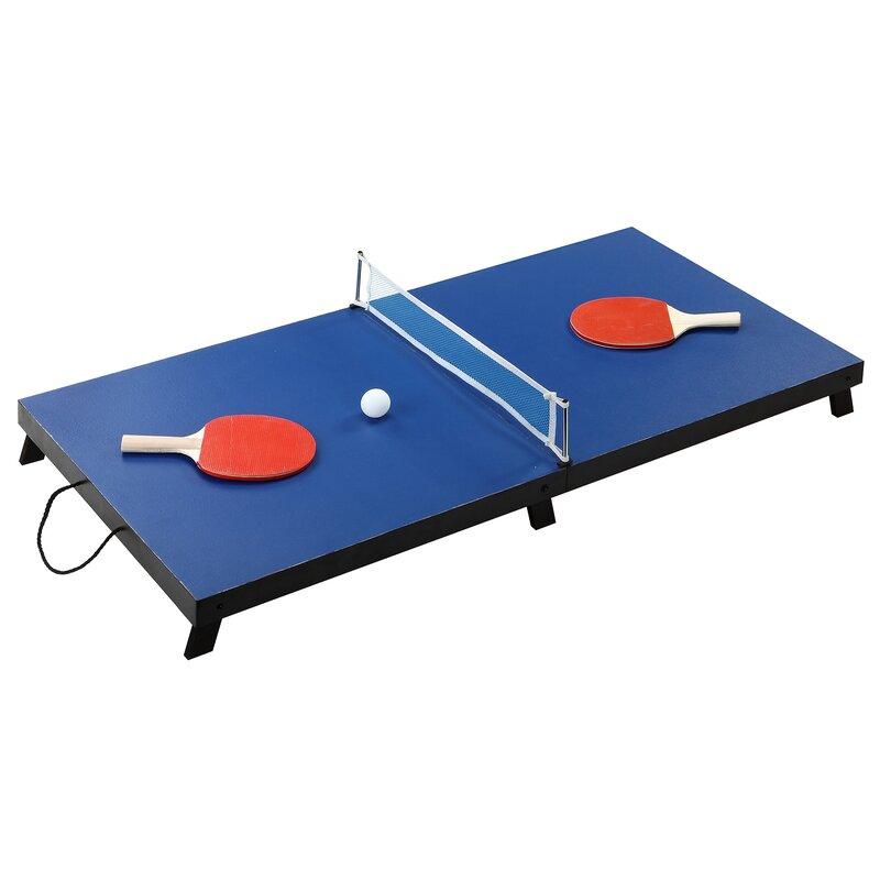 Drop Shot Portable Table Tennis Set  sc 1 st  Wayfair & Hathaway Games Drop Shot Portable Table Tennis Set \u0026 Reviews   Wayfair