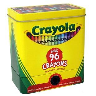 Compare prices Crayola Metal/Wire Box ByTin Box Company