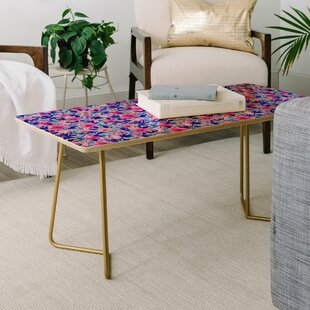 Jacqueline Maldonado Birds and Flowers Coffee Table