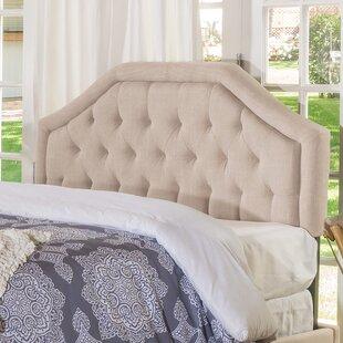 Guide to buy Stuttgart Queen/Full Upholstered Panel Headboard by Charlton Home
