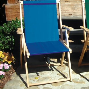 Blue Ridge Chair Works Folding Beach Chair