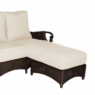 Acacia Home and Garden Montego Bay Chaise Lounge with Cushion