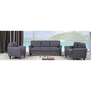 Price comparison Peru 3 Piece Living Room Set by Zipcode Design Reviews (2019) & Buyer's Guide