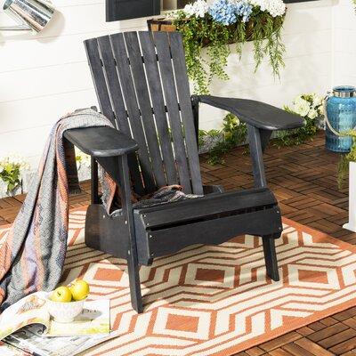 Amazing Safavieh Mopani Wood Adirondack Chair Color Dark Slate Gray Gamerscity Chair Design For Home Gamerscityorg