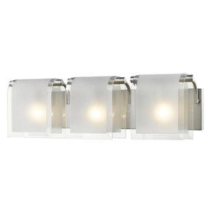 Low priced Kadlec 3-Light Vanity Light By Orren Ellis