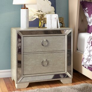 Halstead 2 Drawer Nightstand
