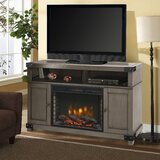 Hudson TV Stand for TVs up to 65 with Fireplace Included by Muskoka