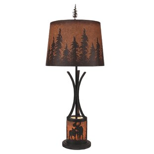 Graciela Moose Scene Night Flat Bar 32 Lamp