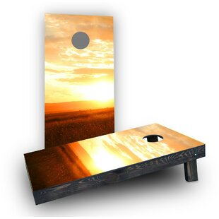 Custom Cornhole Boards Sunset Cornhole Boards (Set of 2)