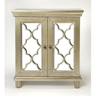 Klassen 2 Door Accent Cabinet by House of Hampton
