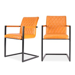 Tommie Upholstered Dining Chair (Set Of 2) By Wade Logan