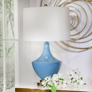Camilo Glass 28 Table Lamp