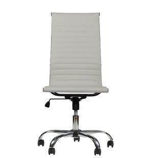 Orren Ellis Fleener High-Back Armless Executive Office Chair