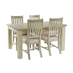 Review Hingham Extendable Dining Set With 4 Chairs