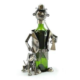 Hunter 1 Bottle Tabletop Wine Rack