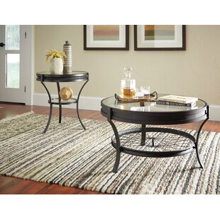Poole 2 Piece Coffee Table Set  sc 1 st  Wayfair & Round Coffee Table Sets Youu0027ll Love | Wayfair