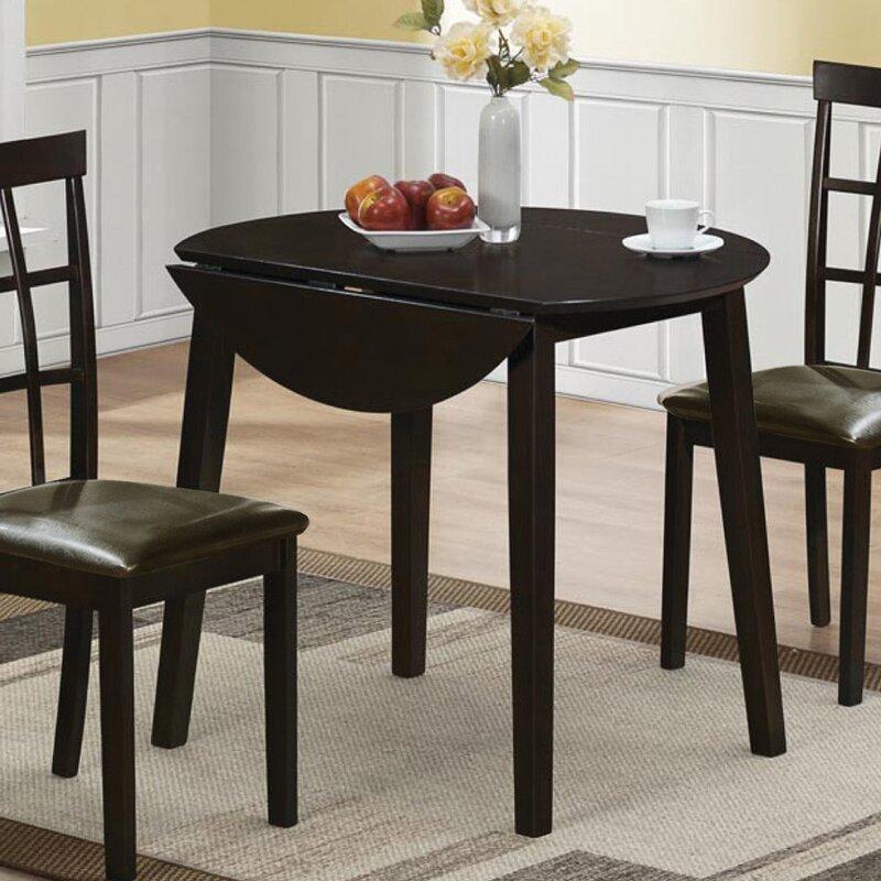 Charlton Home Drop Leaf Dining Table & Reviews | Wayfair