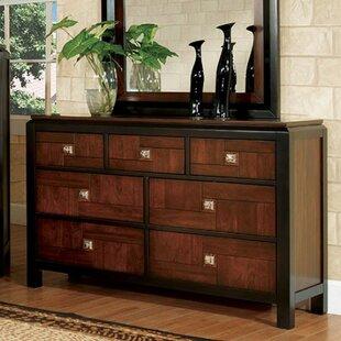 Kruse 7 Drawer Dresser by Bloomsbury Market