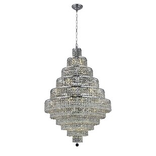 Rosdorf Park Bratton Contemporary 30-Light Chandelier