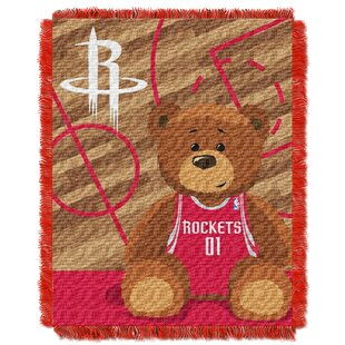 Reviews NBA Rockets Half Court Baby Throw By Northwest Co.