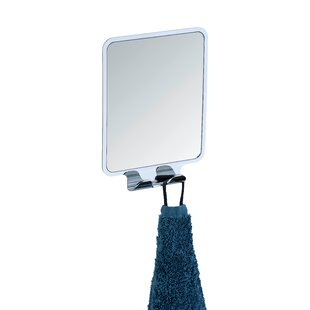 Reviews Vacuum-Loc Quadro Wall Mirror By Wenko Inc