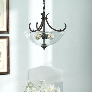 Sheila 3-Light Semi Flush Mount by Laurel Foundry Modern Farmhouse