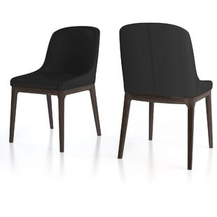 Howell Genuine Leather Upholstered Dining Chair (Set of 2)