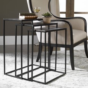 Carr Iron 3 Piece Nesting Tables (Set of 3)