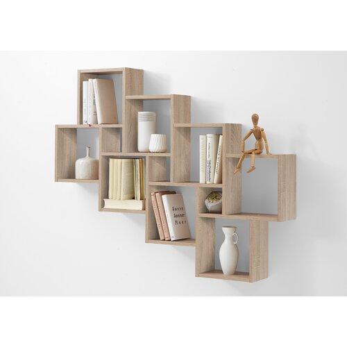 Würfelregal | Wohnzimmer > Regale > Regalwürfel | Beige | Holzwerkstoff | ClearAmbient