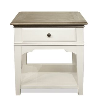 Brenna End Table by Highland Dunes