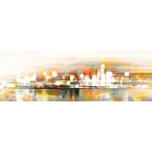 'Hong Kong' by Parvez Taj Framed Graphic Art Print on Wrapped Canvas