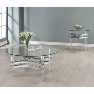 Orren Ellis Trinton 2 Piece Coffee Table Set