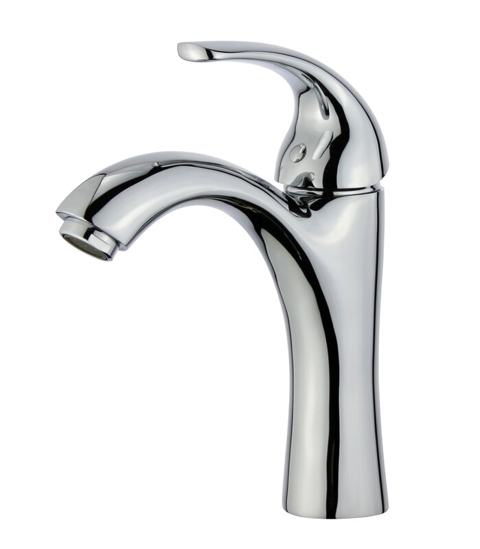 Seville Single Hole Bathroom Faucet With Drain Assembly