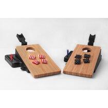 GoSports Coinshot Mini Tabletop Cornhole Game Set for sale online