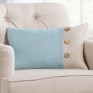Averill Oblong Linen Lumbar Pillow