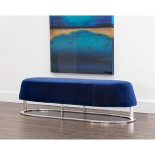 Sunpan Modern Club Cavo Upholstered Bench