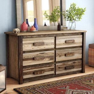 Abella 6 Drawer Double Dresser by Loon Peak Amazing