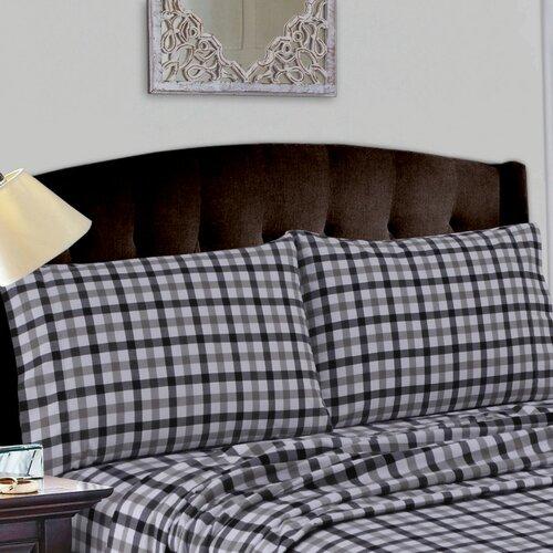 Darby Home Co Tisbury Cotton Deep Pocket Flannel Sheet Set Reviews Wayfair