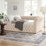 Hinsdale Full Solid Wood Daybed by Three Posts