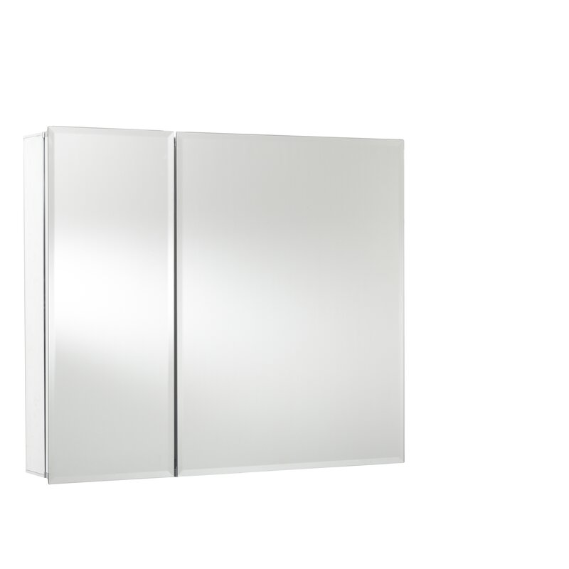 Jacuzzi 174 30 Quot X 26 Quot Recessed Or Surface Mount Frameless Medicine Cabinet With 5 Adjustable