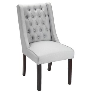 Pirton Button Tufted Upholstered Dining Chair by Gracie Oaks
