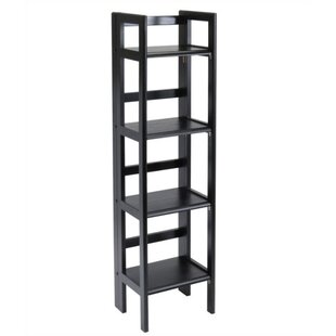 Basics Folding Etagere Bookcase Winsome