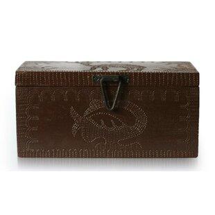 Sankofa Adinkra Bird Wood Jewelry Box ByBloomsbury Market