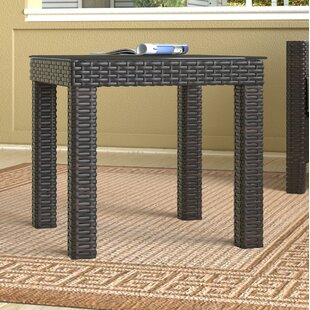 Tahoe Outdoor Wicker Side Table by Serta at Home 2019 Sale