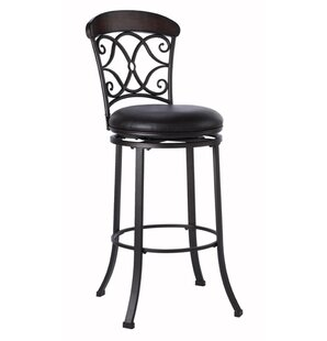 Trevelian Bar & Counter Swivel Stool With Cushion by Hillsdale Furniture