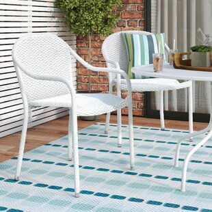 Mercury Row Belton Stacking Patio Dining Chair (Set of 2)