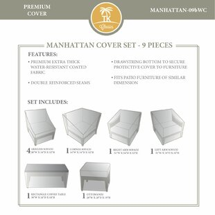 TK Classics Manhattan Winter 9 Piece Cove..